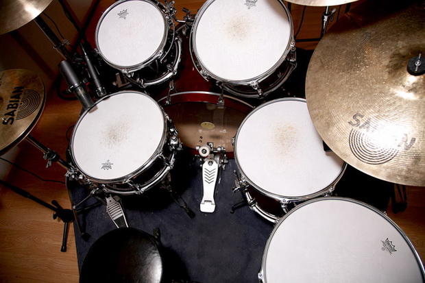 Trumset - Gretsch Catalina Maple, Zildjian cymbaler